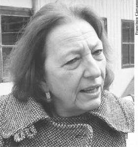 María Elena Duccl sostuvo que debe existir una regulación adecua¬da que le ponga lí-mites a las construc-ciones que afectan la calidad de vida de los barrios.